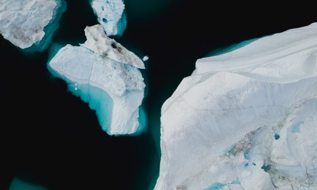HAVE YOU EVER LOOKED AT A GLACIER UNDERWATER?