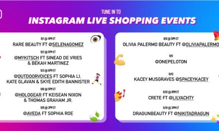 Instagram's livestream shopping event features celebrities, creators, and brands